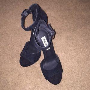 Steve Madden Black Heels.